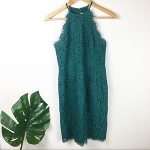 Loft | Lace halter dress